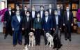 蔡英文官邸招待美非官方代表團 愛犬入鏡拍合照成焦點