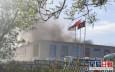 北京家居市場變電室起火黑煙密布 35輛消防車到場灌救