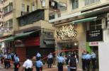 Chickeeduck荃灣店被圍封 警店外設封鎖線