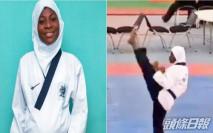 非洲孕婦跆拳比賽奪冠 挺肚出拳踢腿嚇驚網民