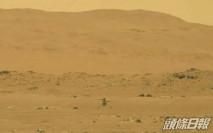 美國火星探測器「創新號」在火星首飛成功