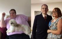 英癡肥漢怕壓死老婆決心減肥 3年激減270公斤
