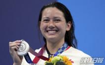 【東奧游泳】泳隊凱旋 何詩蓓周二晚返抵香港