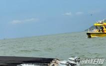 水警沙洲追截走私艇翻船 3警墮海受傷1女警失蹤 跨部門搜索