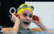【東京奧運】女子100米背泳決賽 麥姬昂破奧績奪金
