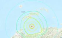 印尼蘇拉威西海域發生6.3級地震 震源深度10公里