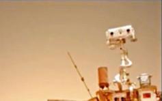 登陸火星實拍影像 祝融號留清晰轍迹