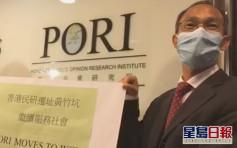 鍾庭耀指香港民研財政健全 不考慮眾籌集資