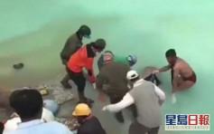 為打撈26年好友遺體 印尼男零防護措施跳入世界最酸火山口湖