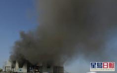 印度新冠疫苗生产商兴建中厂房大火