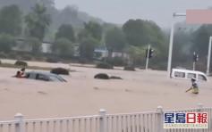 內地7省市暴雨 湖北多區現8級以上雷暴大風