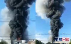 湖北仙桃市化工廠鍋爐爆炸 5傷4失蹤