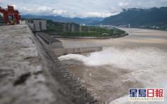 湖北雨量創紀錄 三峽今年首泄洪