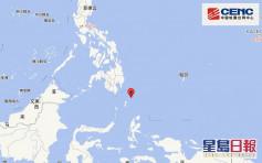菲律賓以南海域發生6.6級以上地震
