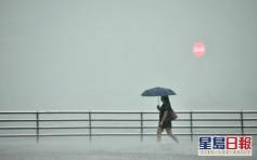 強雷雨區正橫過珠江口 天文台預料未來一兩小時影響本港