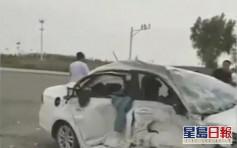 陝西駕駛學校教練開車出車禍致兩名學員身亡