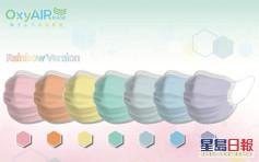 Oxyair Mask下月網上開售 95元一盒 6月推彩虹7色口罩