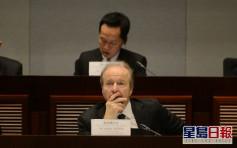 回應美國制裁及禁令 證監會歐達禮稱對香港市場影響可控輕微