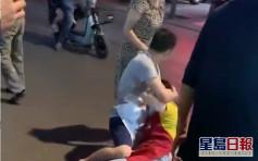湖北男持刀當街隨機斬人 導致11人受傷