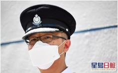 奉勸勿犯法 蕭澤頤:全港3萬警察一定追住你唔放