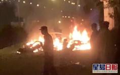 廣州一輛特斯拉失控撞牆起火致一人死亡 警方正調查事故原因