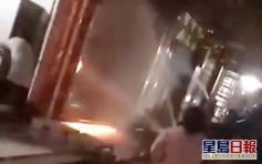 廣東裝飾店凌晨起火  兩兒童遇難