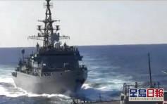美俄軍艦阿拉伯海險相撞 一度相距約50米