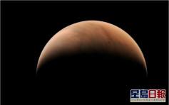 「天问」摄得火星侧身图片