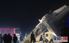 哈薩克飛機失事墜毀 造成4死兩傷