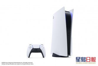 PlayStation 5 主機分為標準版及數位版。官方facebook圖片