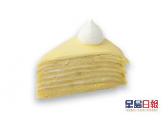 榴槤蛋糕切件