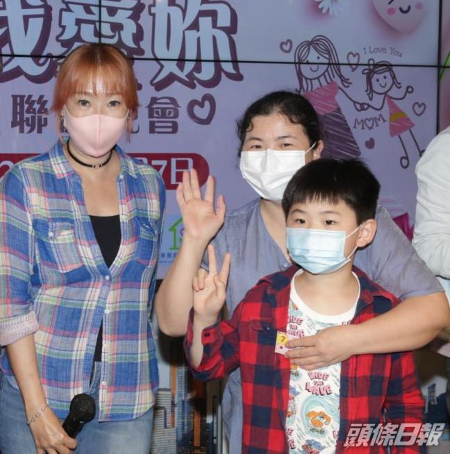 唐安麒現身說法鼓勵單親家庭。