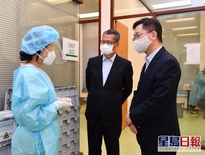 財政司司長陳茂波指,今次新冠疫情對全球經濟發展和結構帶來了深遠的影響。