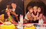 蔡少芬与家人好友打边炉过生日 收黎姿生日蛋糕嗌惊喜